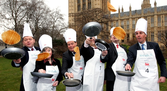 pancake-tossing