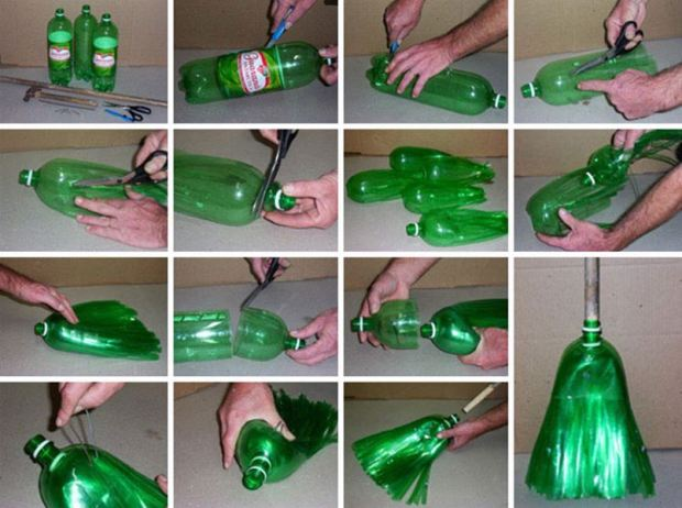 creative-ideas-diy-broom-from-plastic-bottle